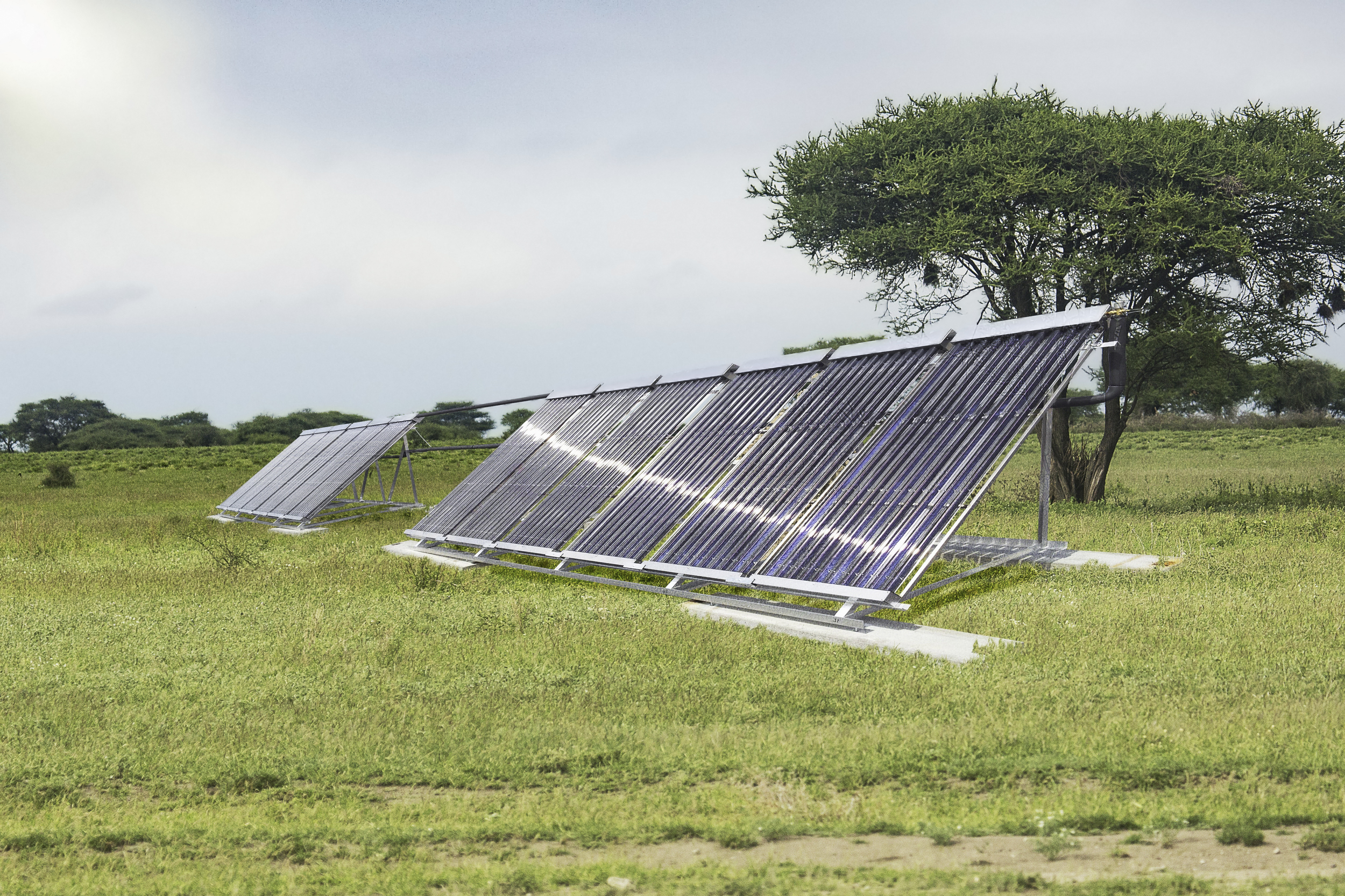 Solar power – an alternative source of energy for EMSF